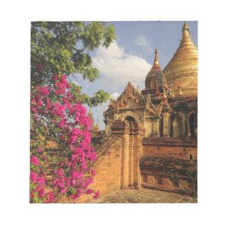 Dhamma Yazaka Pagoda at Bagan (Pagan), Myanmar Notepad