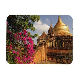 Dhamma Yazaka Pagoda at Bagan (Pagan), Myanmar Rectangular Photo Magnet