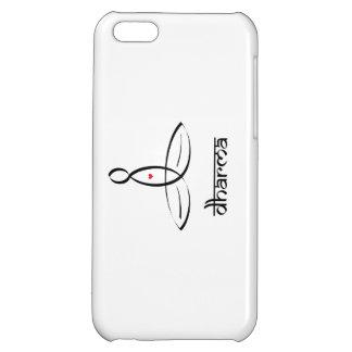 Dharma - Black Sanskrit style iPhone 5C Cover