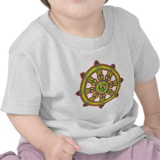 Dharma budista Chakra Camisetas