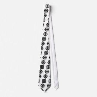 Dharma chakra neck tie