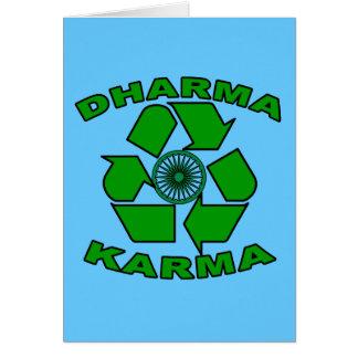 Dharma Karma Eco Design Card