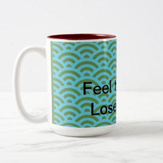 Dharma Motto- Lose The Story Two-Tone Coffee Mug