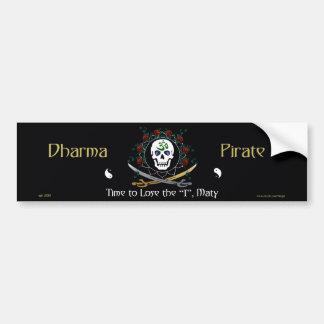 Dharma Pirate 2 Bumper Stickers