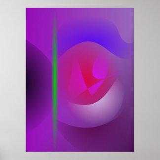 Dharma púrpura impresiones