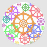 dharma round sticker