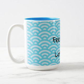 Dharma teaching- Lose the story Two-Tone Coffee Mug
