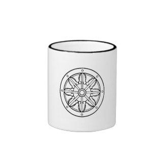 Dharma Wheel 2 Ringer Mug