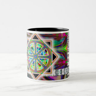 Dharma Wheel Coffee Cup / Mug