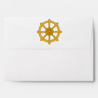 Dharma Wheel Envelope