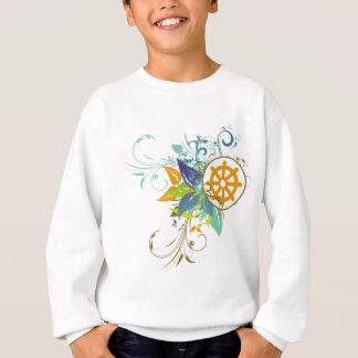 Dharma Wheel Floral Sweatshirt