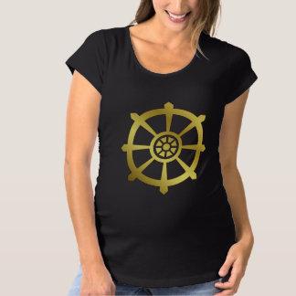 Dharma Wheel Maternity T-Shirt