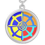 Dharma Wheel Necklace