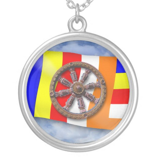Dharma-Wheel Necklace