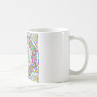 Dharma Wheel of Fortune coffee cup Classic White Coffee Mug