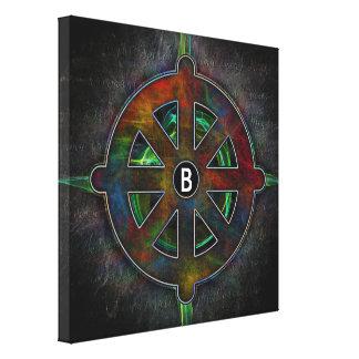 Dharma Wheel of High Energy Canvas Print