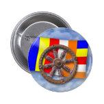 Dharma-Wheel Pin