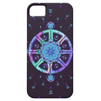 Dharma Wheel Purple and Blue Phone Case