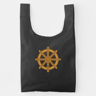 Dharma Wheel Reusable Bag
