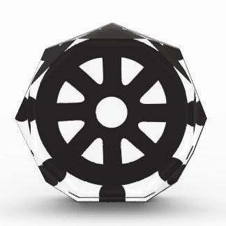 "Dharmacakra, Dharmachakra, ""Wheel of Dharma"" Acrylic Award"
