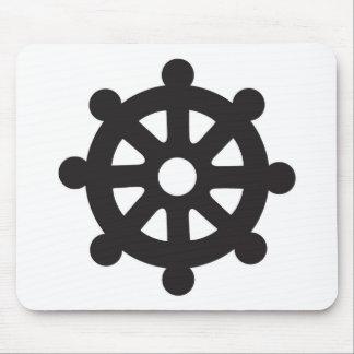 "Dharmacakra, Dharmachakra, ""Wheel of Dharma"" Mouse Pad"