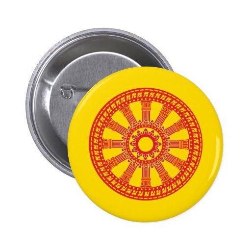 Dharmacakra - diseño (de Tailandia) Pins