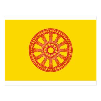 Dharmacakra - diseño (de Tailandia) Postales