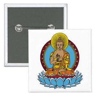 Dharmachakra Buddha Pin