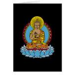 Dharmachakra Buddha Greeting Card