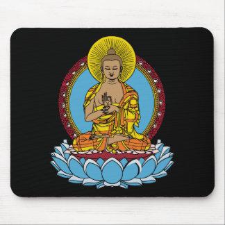 Dharmachakra Buddha Mouse Pad