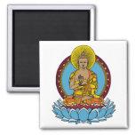 Dharmachakra Buddha Refrigerator Magnets