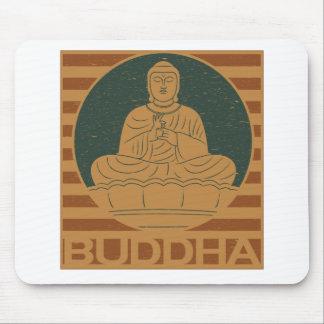 Dharmacharkra Buddha Mudra Mouse Pad