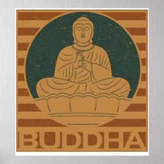 Dharmacharkra Buddha Mudra Posters