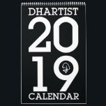 "DHARTIST Calendar - 2019<br><div class=""desc"">Replace the bland of your day with this colorful calendar from dhartist! Featuring a collection of his most popular designs.</div>"