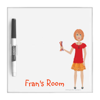 DHG Dry Erase Board with pen Small - 8 x 8