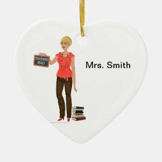 DHG heart ceramic ornament