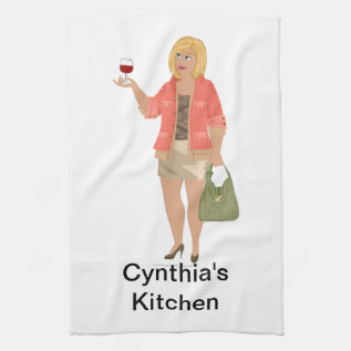 Dhg Kitchen Towel at Zazzle
