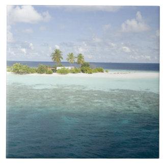 Dhiggiri Island, South Ari Atoll, The Maldives, Large Square Tile