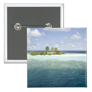Dhiggiri Island, South Ari Atoll, The Maldives, Pinback Button