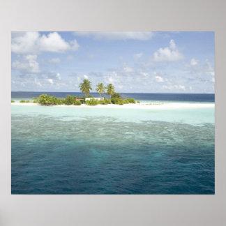Dhiggiri Island, South Ari Atoll, The Maldives, Poster
