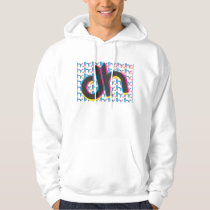 DHlogo and pattern CMYK Hoodie