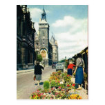 d'Horloge del vintage París, de París Quai y del v Postales