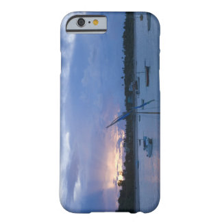 Dhows at sunset, Vilanculos Harbor, Bazaruto Barely There iPhone 6 Case