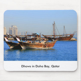 Dhows in Qatar Mouse Pad