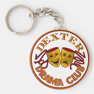 DHS Drama Logo Basic Keychain