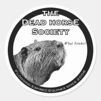 DHS Muskrat Stickers