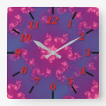 Dhyana Square Wall Clock