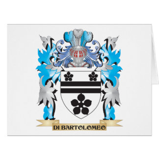 Di-Bartolomeo Coat of Arms - Family Crest Cards