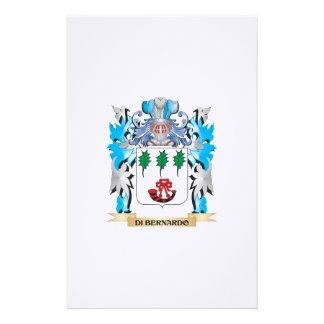 Di-Bernardo Coat of Arms - Family Crest Custom Stationery