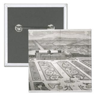 Di Caserta de Palazzo, del 'dei Disegn de Dichiara Pin Cuadrada 5 Cm